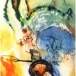 """Alice nos País das Maravilhas"" por Salvador Dalí"