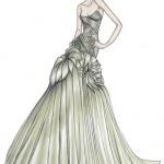 Croquis de moda – Atelier Versace