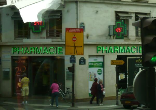Citypharma: farmácia com preços ótimos em Paris na Rue du Four