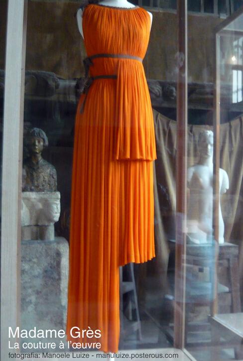 Exposição Madame Grès em Paris