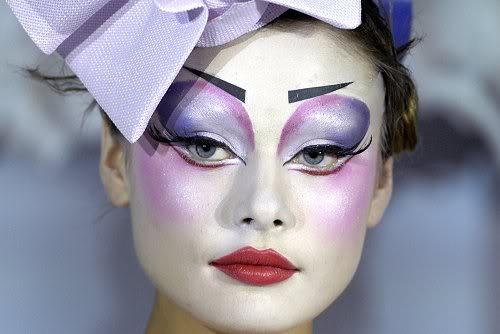 Maquiagem Artística - Dior - Carnaval