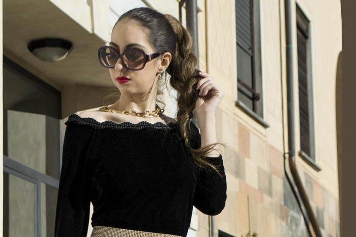 Manu Luize black dress