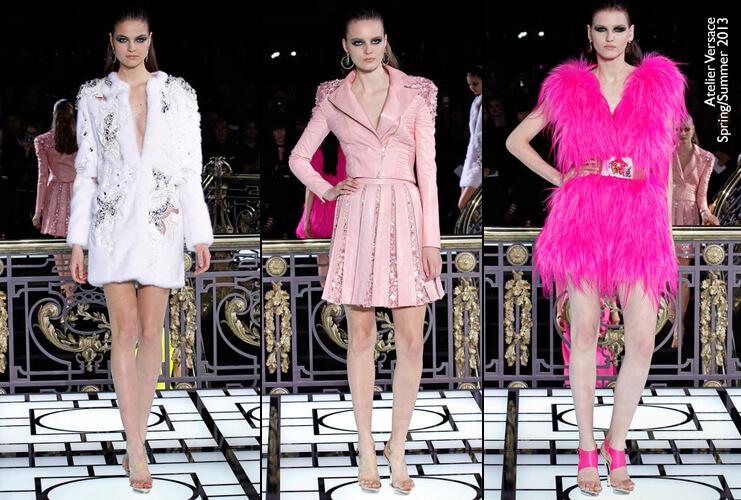 Atelier Versace: Coleção Haute Couture S/S 13