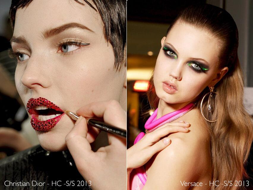 Maquiagem Artística - Dior e Versace