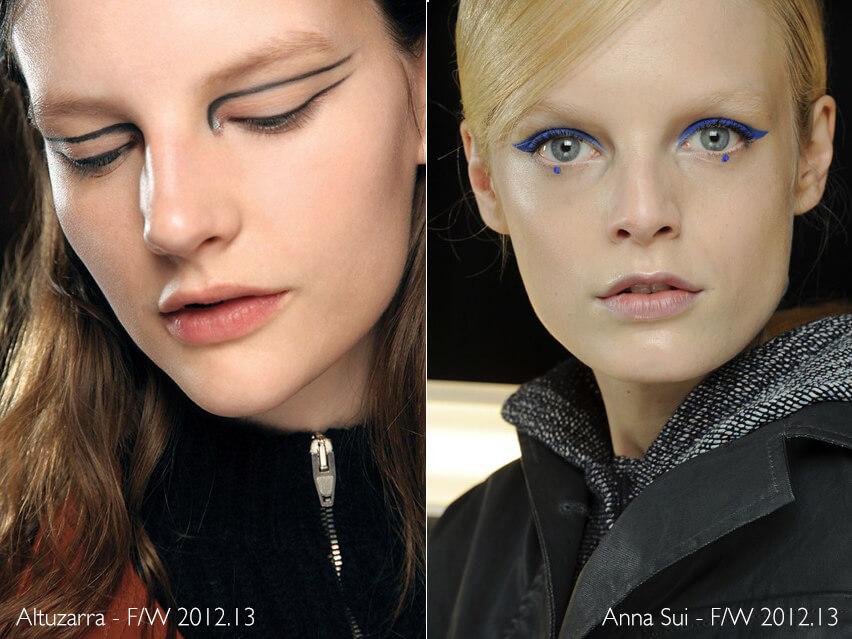 Maquiagem Artística - Altuzarra e Anna Sui