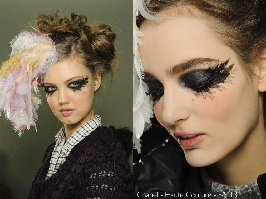 Maquiagem Artística - Chanel