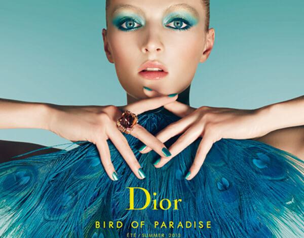 Dior makeup: Bird of Paradise Summer 2013