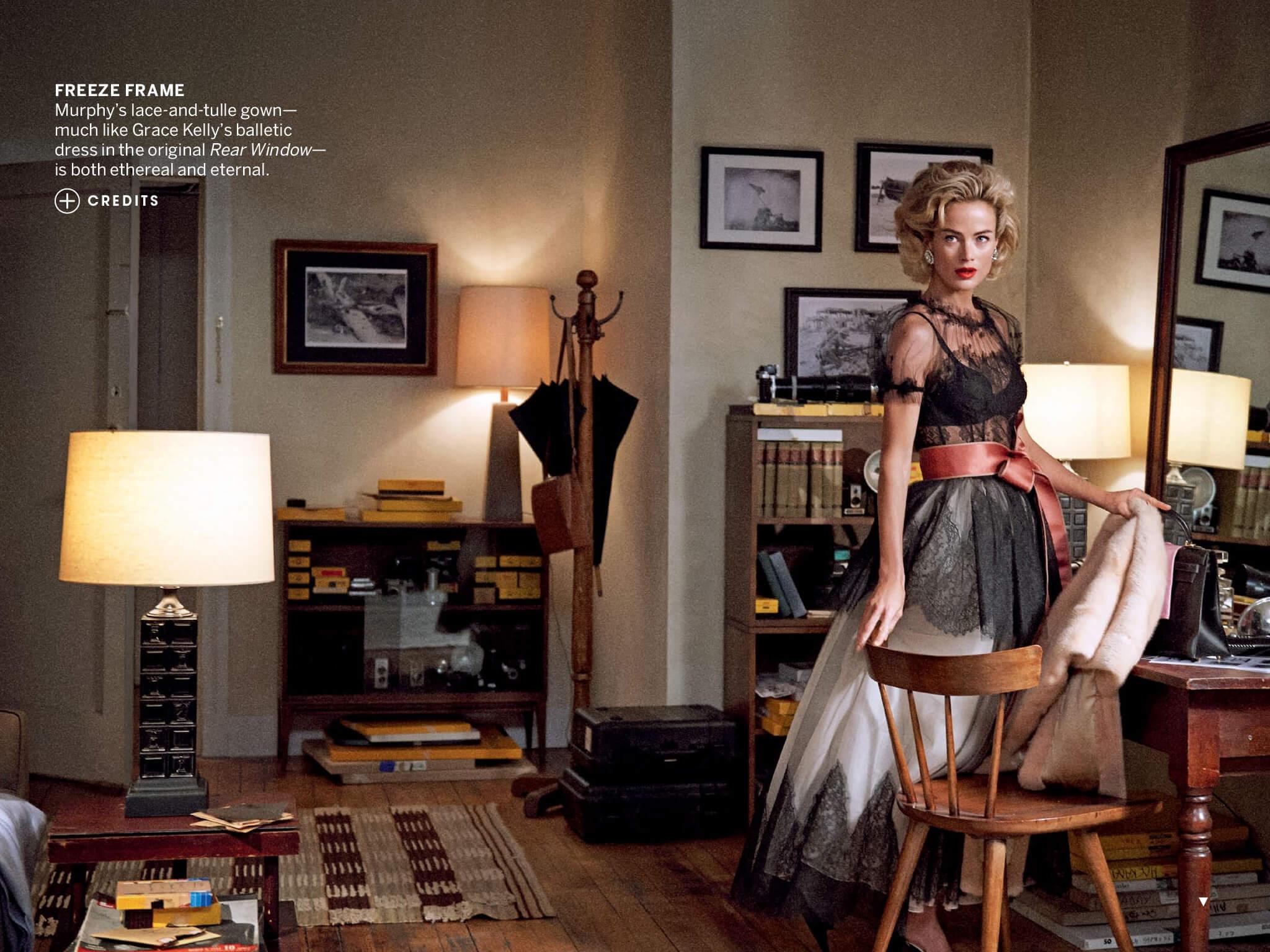 "Editorial US Vogue - April 2013 - ""Window Dressing"""