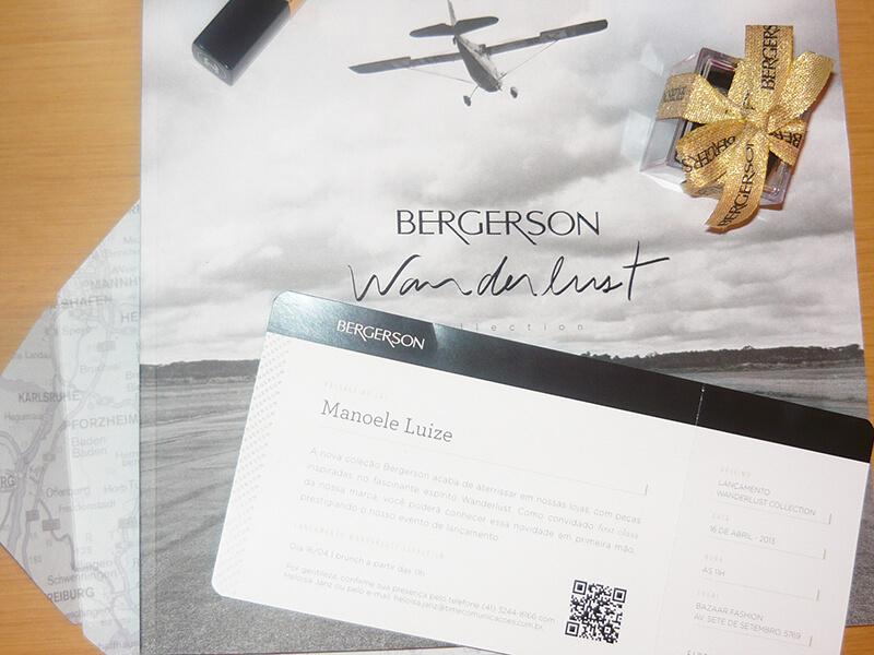 Coleção de Joias Wanderlust da Bergerson