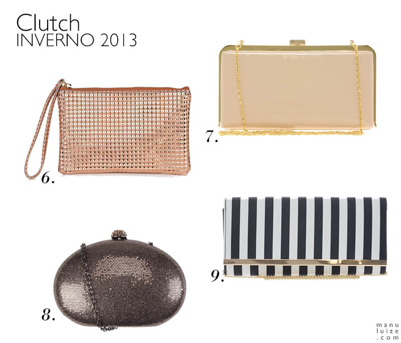 Clutch: tendência para o Inverno 2013