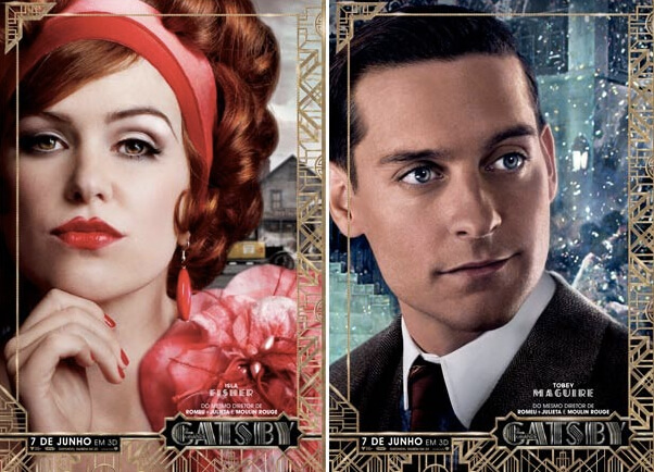 "Poster de ""The Great Gatsby"""