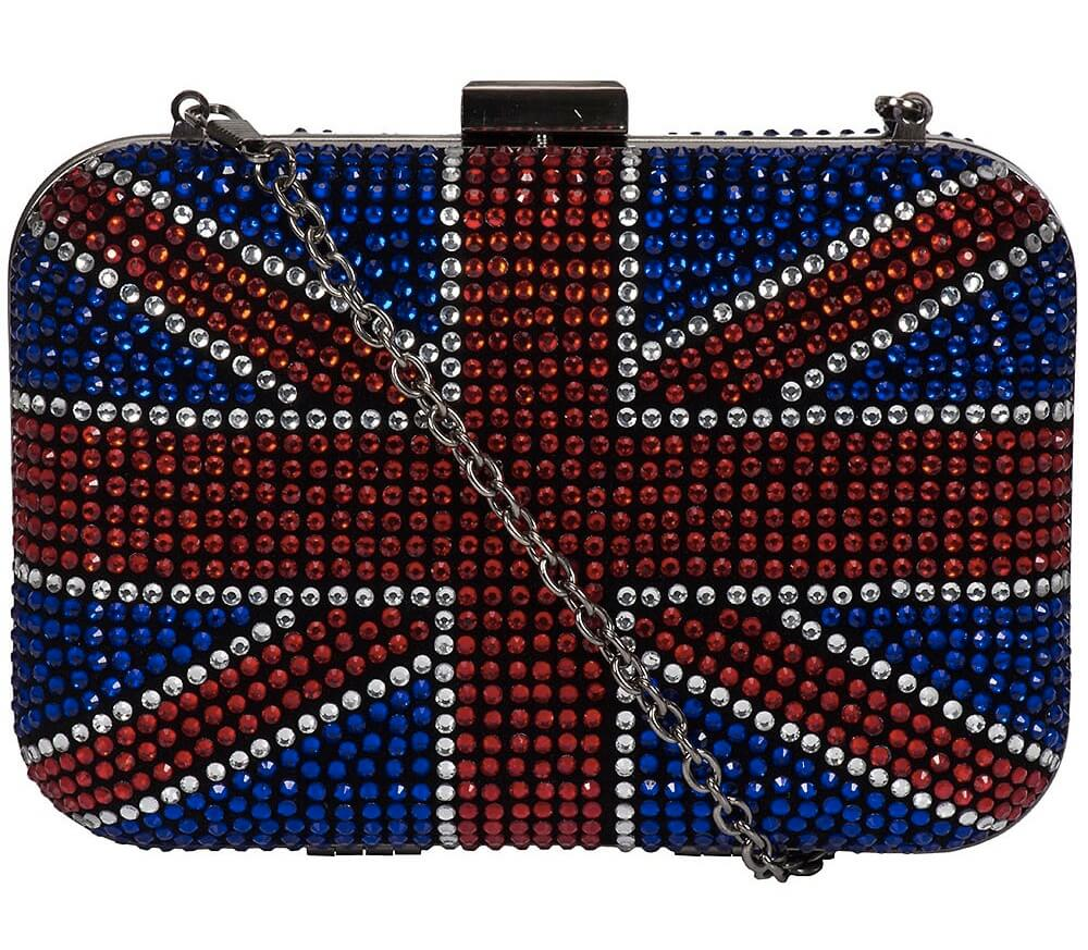 Clutch com bandeira do Reino Unido
