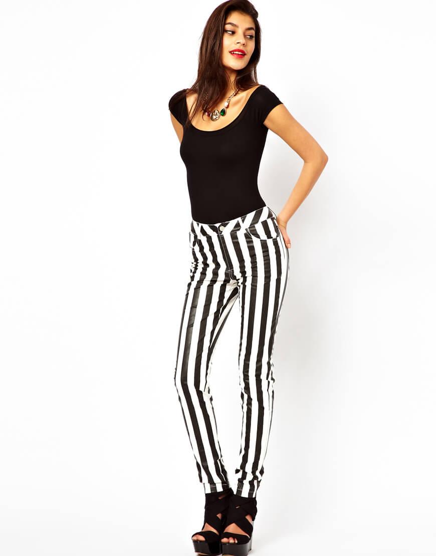 look-calca-listrada-preto-e-branco-listras-comprar-inverno-2013-blog-de-moda