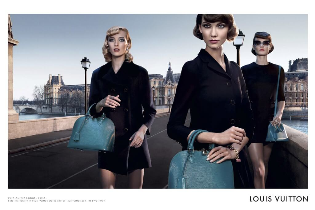 Bolsa Alma da Louis Vuitton ganha campanha publicitária