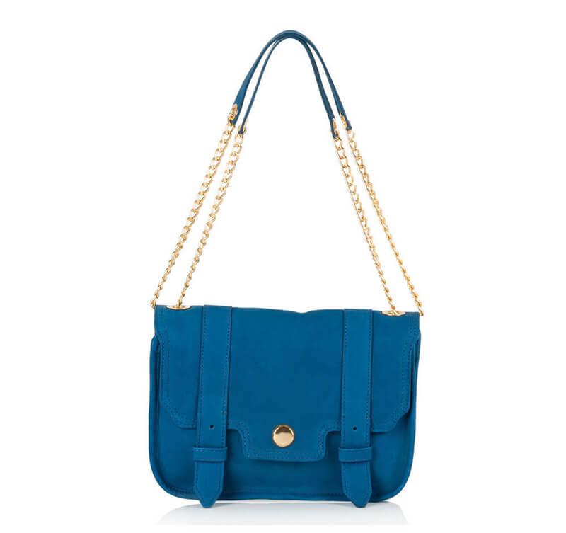 Bolsa Média Azul R$ 259,90