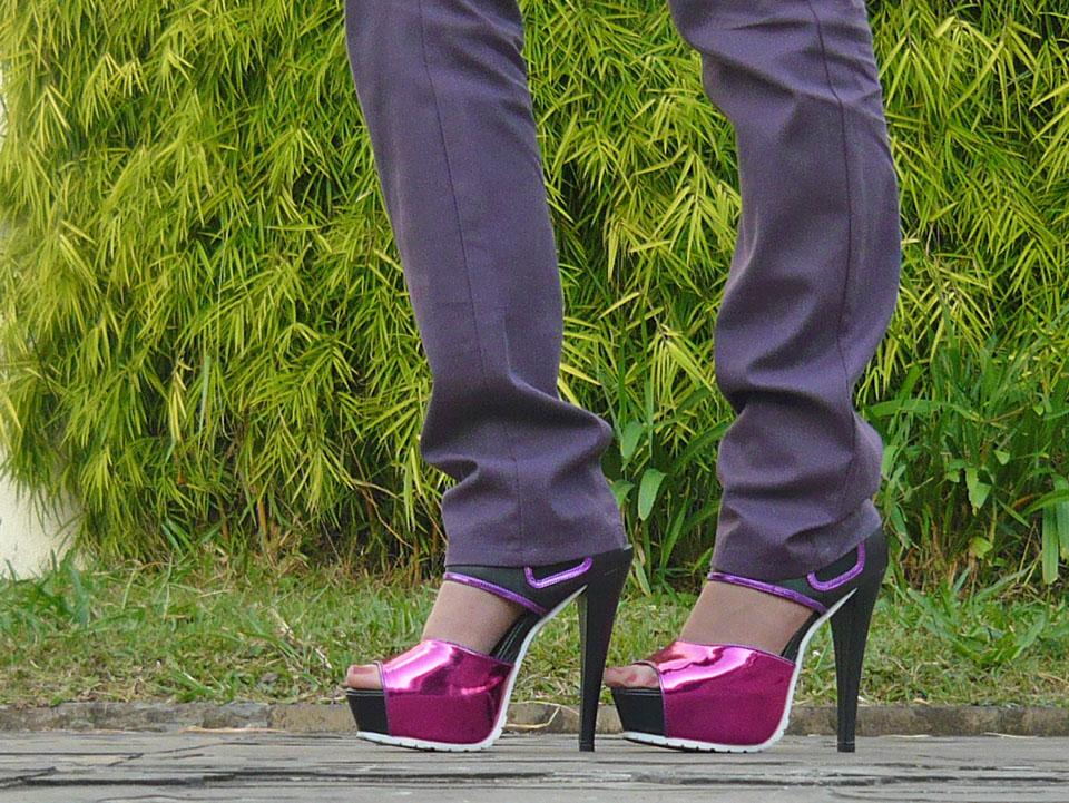 Sandálias do Look do Dia