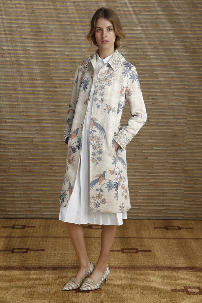 Casaco Estampado - Tory Burch Resort 2014