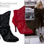 Bota Isabel Marant inspired no olook | Inverno 2013