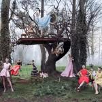 "Campanha Christian Dior ""Secret Garden"" 2"
