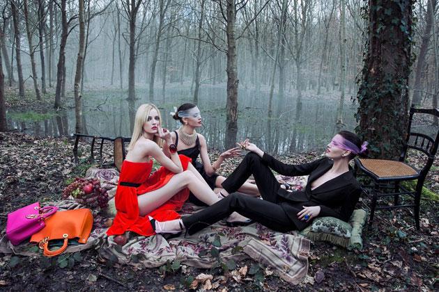 Christian Dior - Secret Gardens Campaign