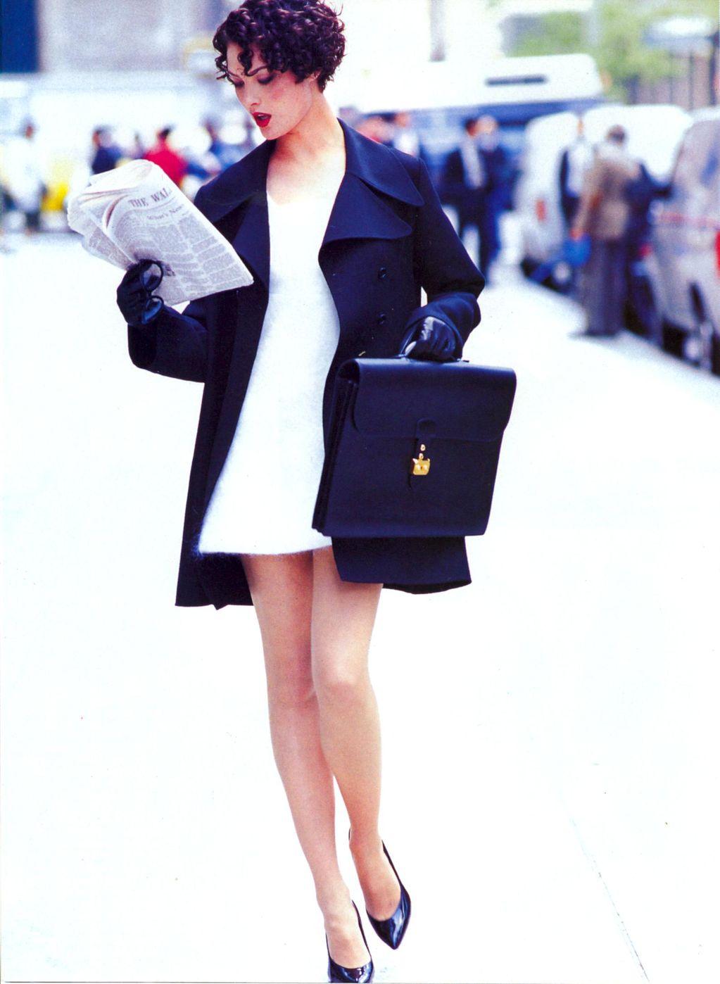 minimalismo dos anos 90 de volta à moda