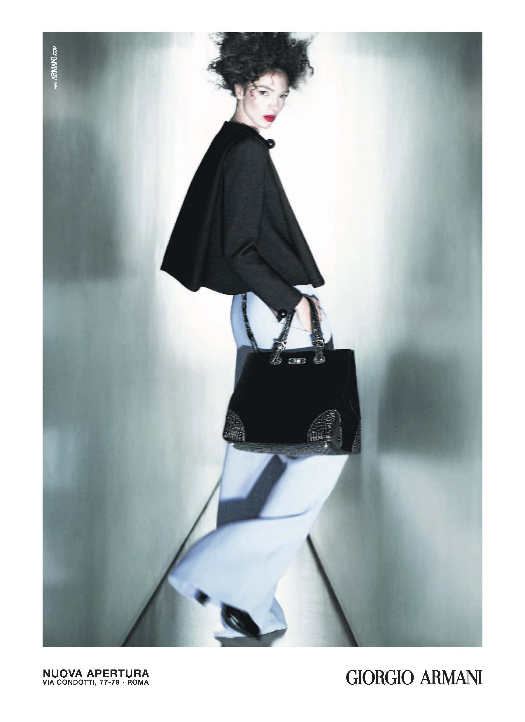Campanha Giorgio Armani Fall/Winter 13.14