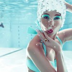 Underwater fashion photography – Zena Holloway