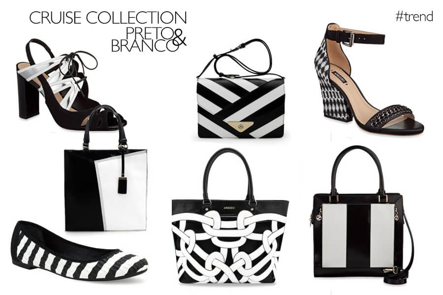 Arezzo Cruise Collection 2014 - Preto e branco
