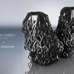Sapatos United Nude para Iris van Herpen haute couture