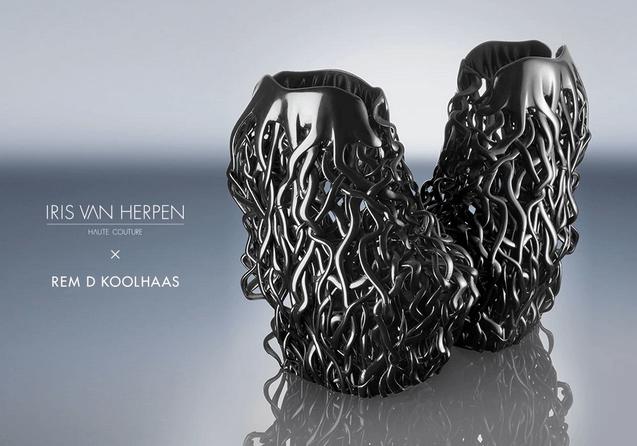 Sapatos United Nude e Iris van Herpen HC