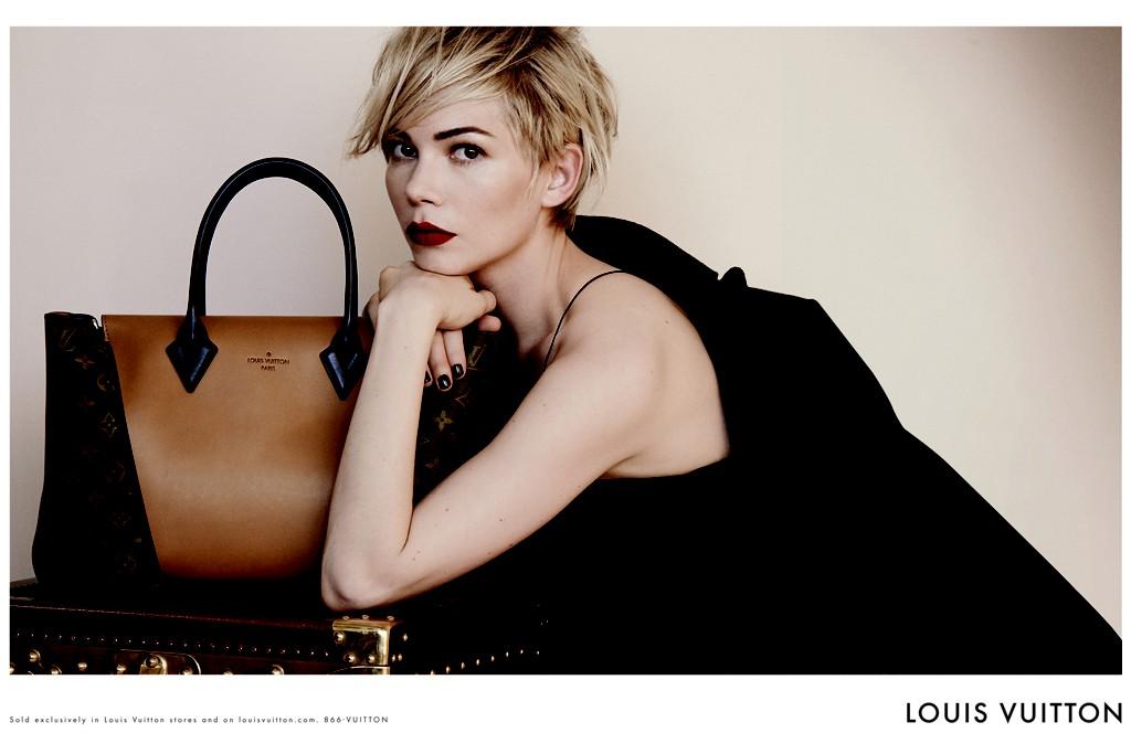 Campanha Louis Vuitton Handbags com Michelle Williams