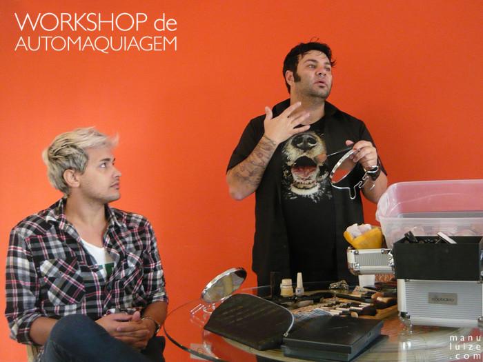 Workshop de Automaquiagem com Jhonny Macartney e Guerreiro