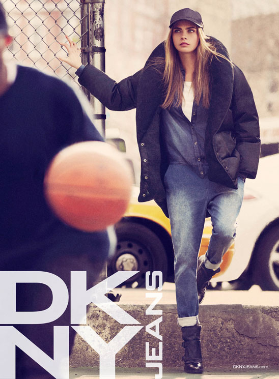Campanha da DNKY Fall/Winter 2013.14