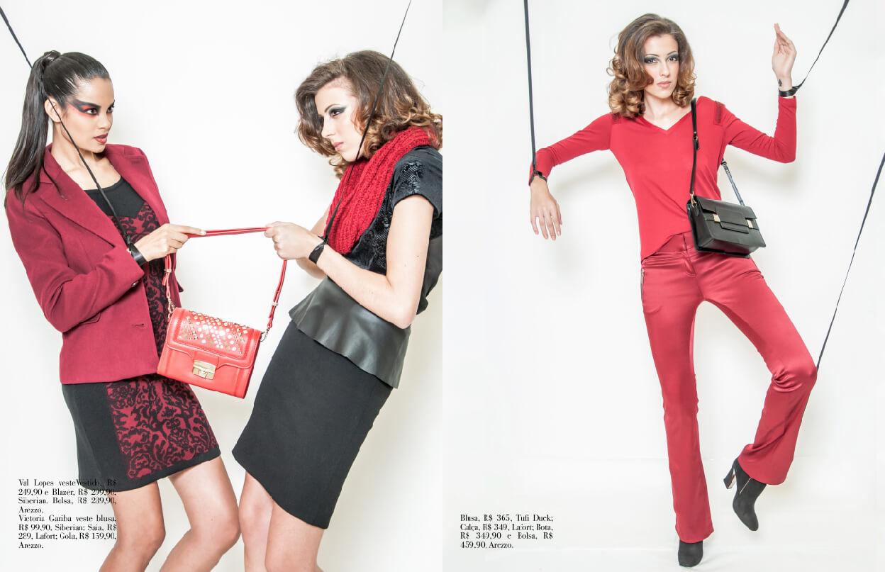 Tendência: Vermelho no Inverno 2013 | Editorial de Moda