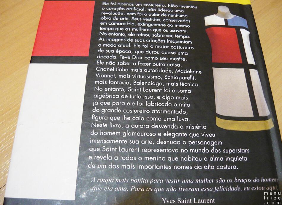 Biografia de Yves Saint Laurent - R$ 34,90