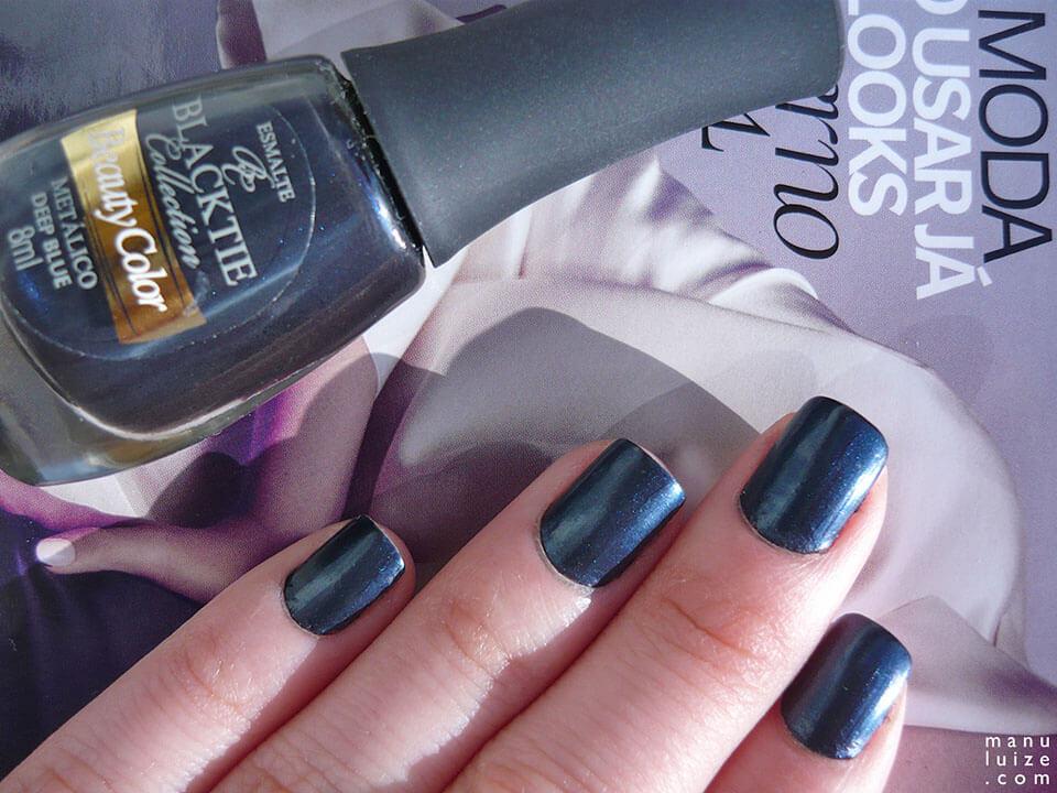 Esmalte metálico: Deep Blue da Beauty Color