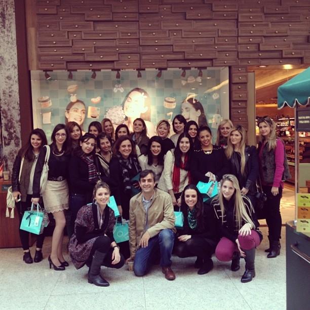 Imprensa e blogueiras de Curitiba na The Beauty Box em São Paulo