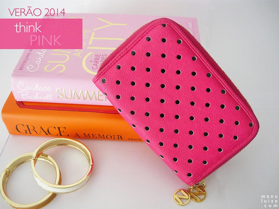 Think pink! Carteira da Arezzo