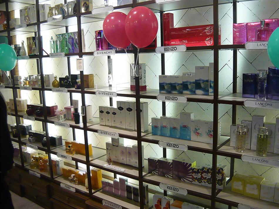 Perfumes importados na The Beauty Box que abre loja em Curitiba