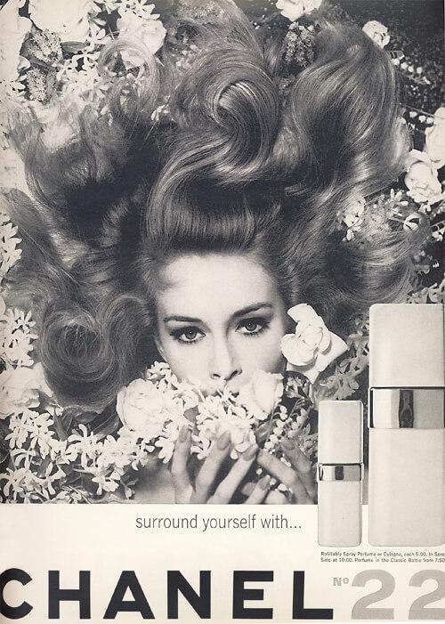 Propaganda Chanel N˚ 22 de 1965