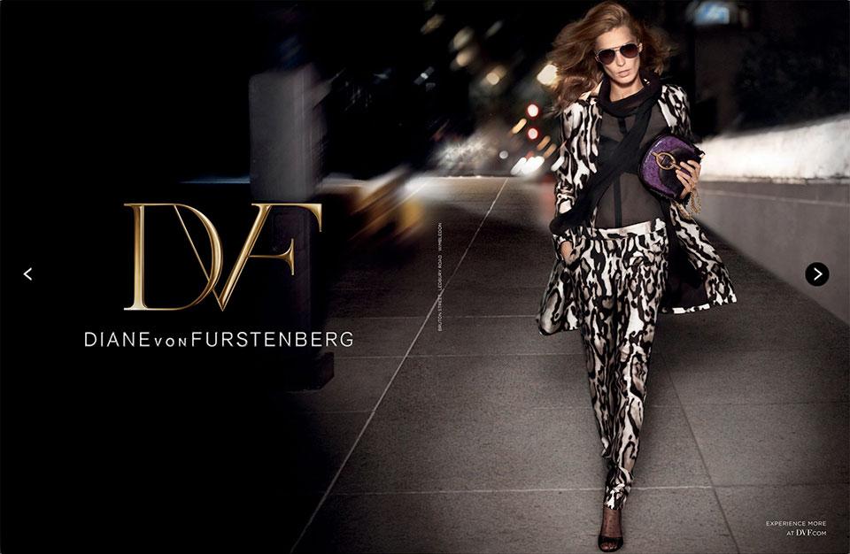 Campanha Diane von Furstenberg - Fall/Winter 2013.14