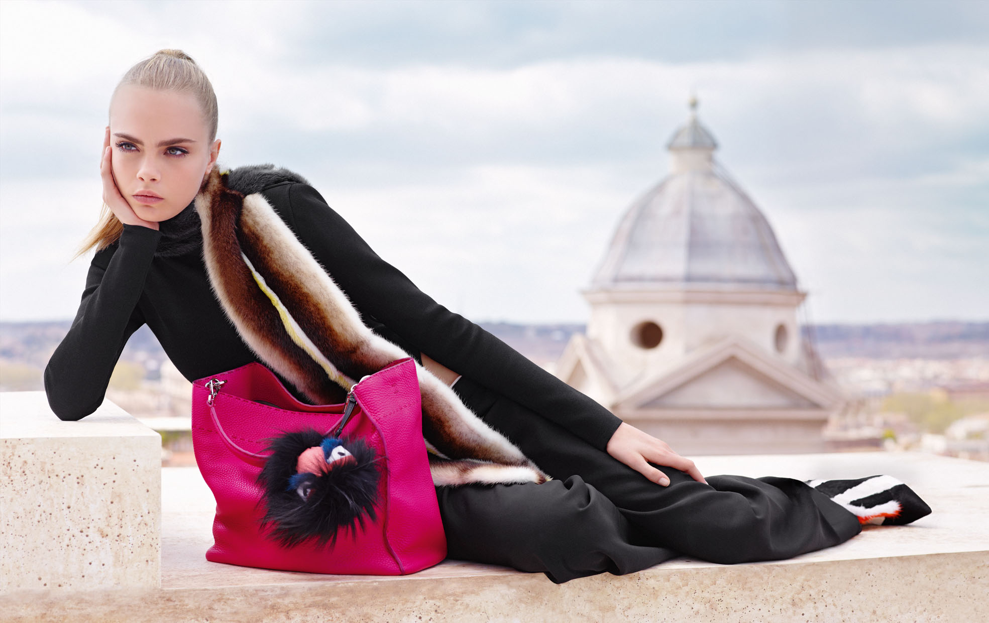 Campanha da Fendi - Fall/Winter 21013.14