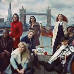 Campanha Marks & Spencer F/W 2013.14 por Annie Leibovitz