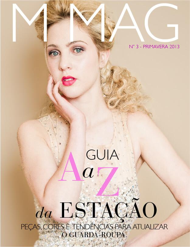 Capa da Revista M MAG edição de Primavera 2013