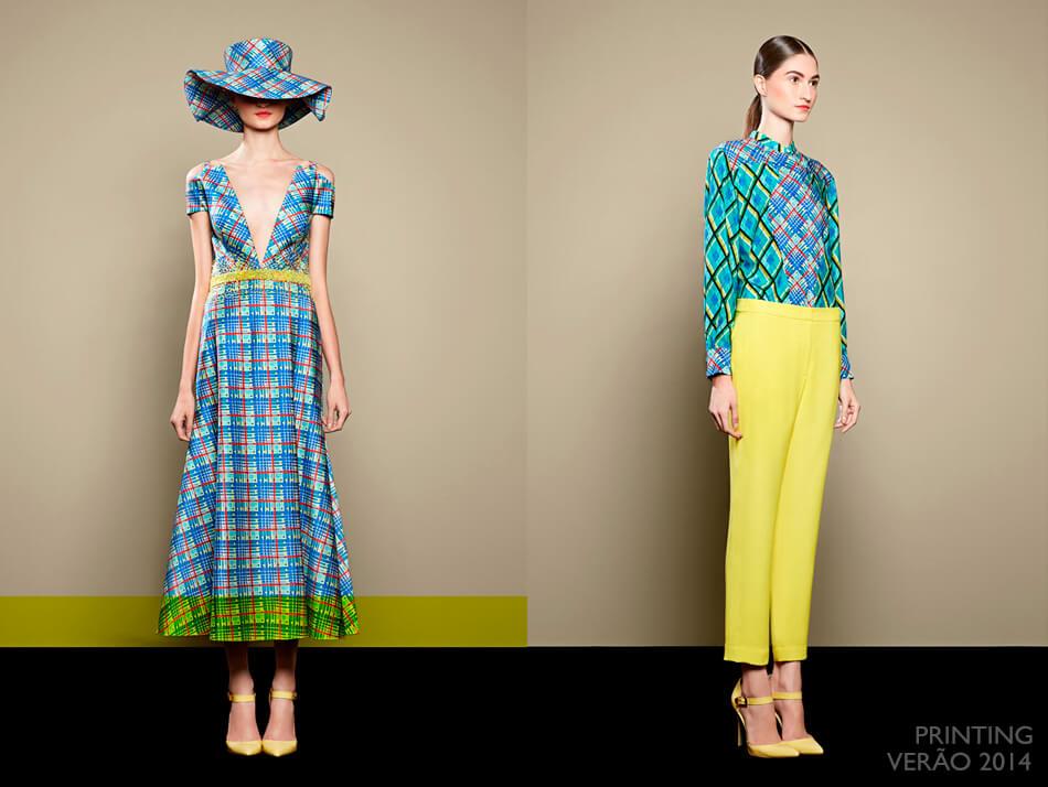 Tendência: Xadrez na Moda - Printing Verão 2014