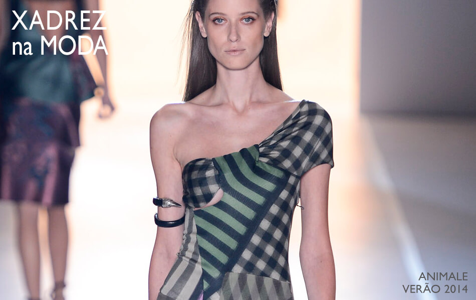 Tendência: Xadrez na Moda para a Primavera / Verão 2013.14