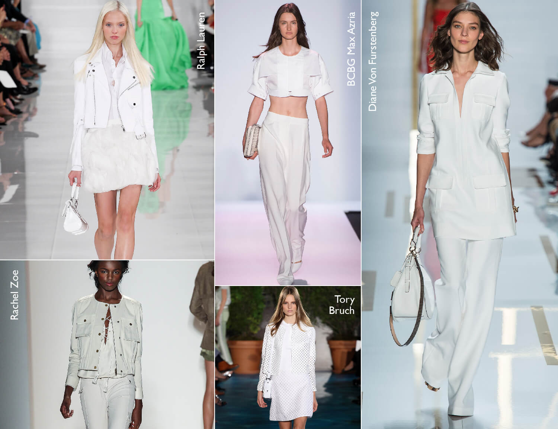 Look total white: o look todo branco é tendência do Verão 2014