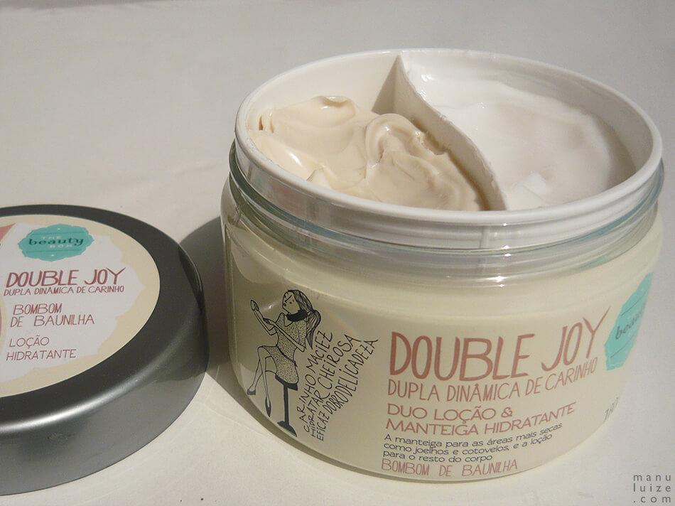 The Beauty Box: Double Joy - Duo de manteiga e loção hidratante