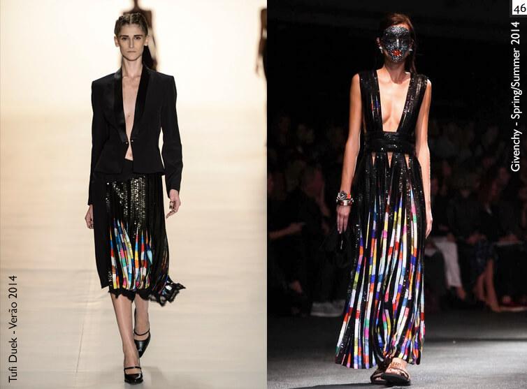 Coincidência fashion? Tufi Duek e Givenchy - Verão 2014