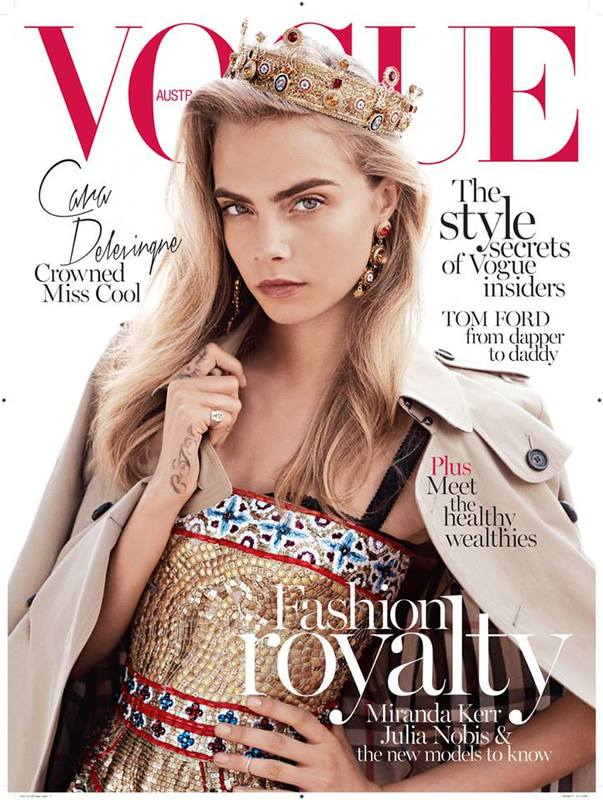 Capa da Vogue Australia October 2013